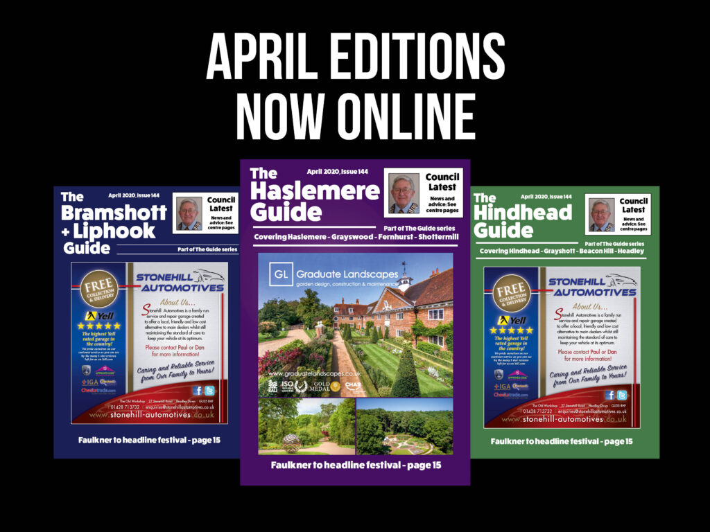 Our April editions are now online!