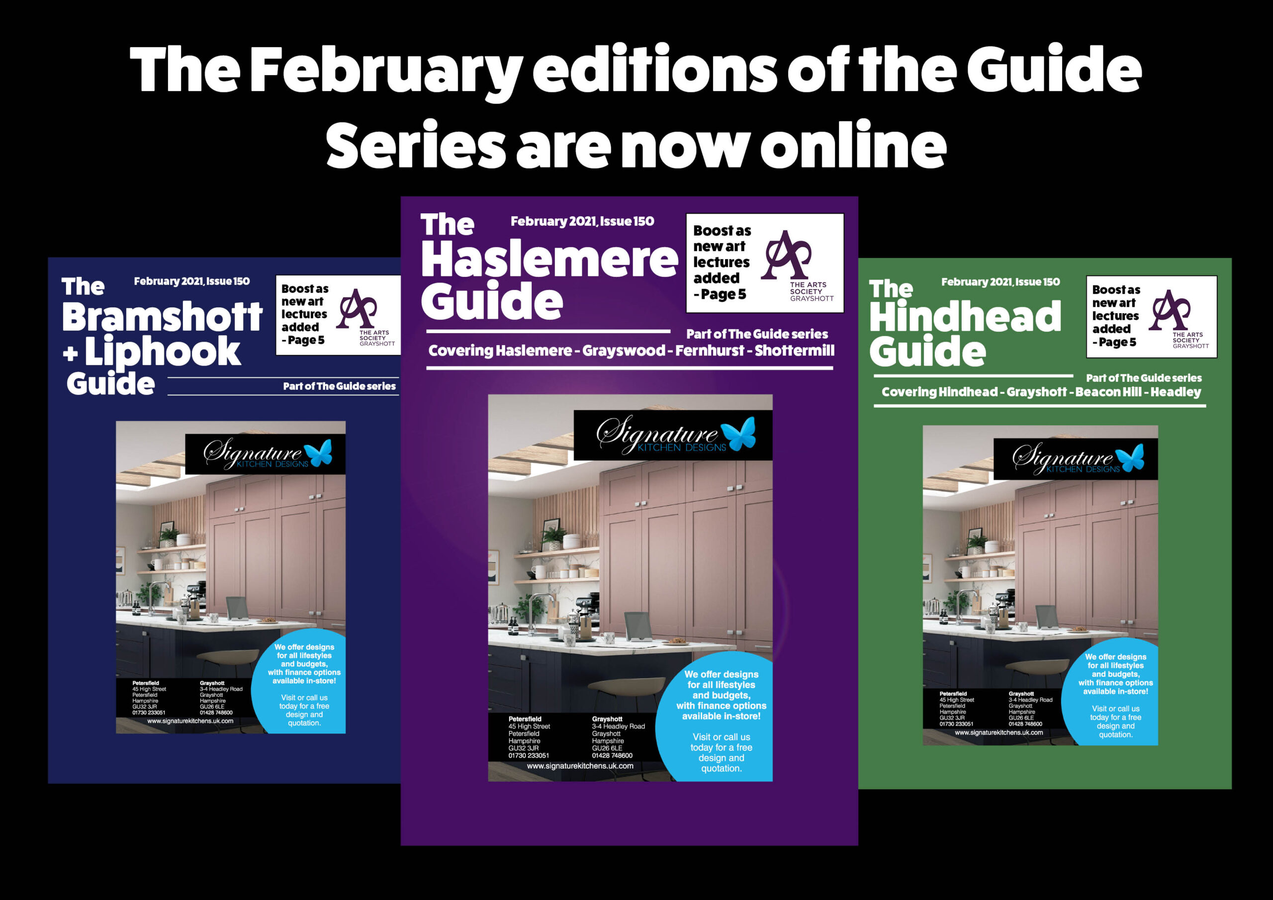 February editions online!