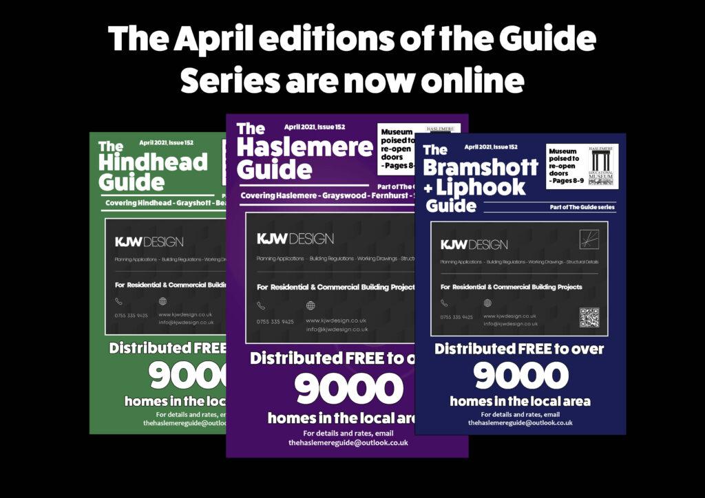 April 2021 editions now live!