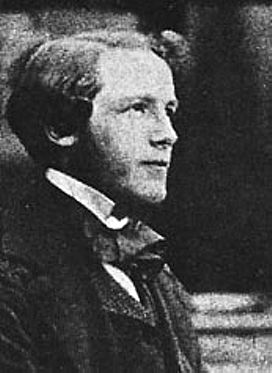 Maxwell as a young man