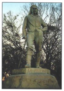 Dr Livingstone statue