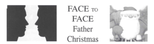 Face to Face Father Christmas banner