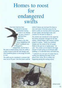 Swifts article page 1