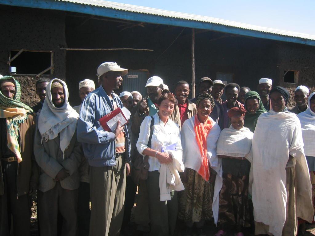 Pat in Ethiopia
