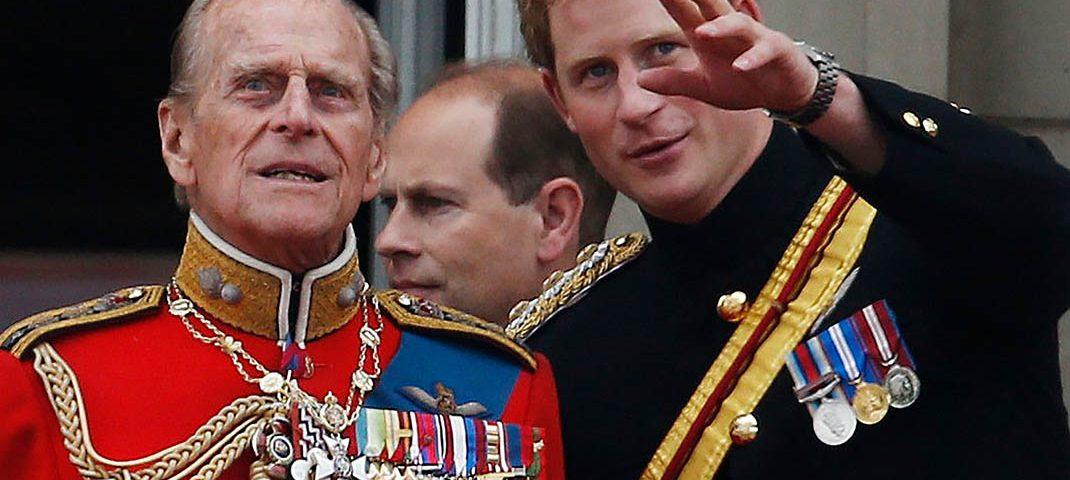 Príncipe Philip y Harry