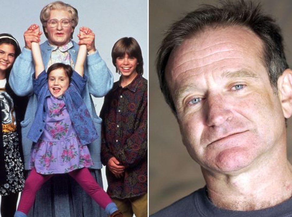Lisa Jakub y Robin Williams