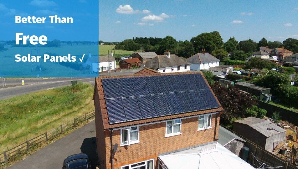 Better than free solar panels