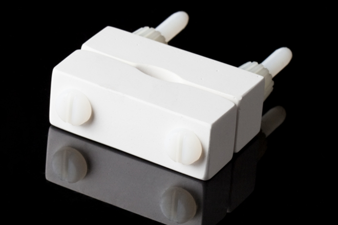 CA Electronics Ceramic Cable Clamp