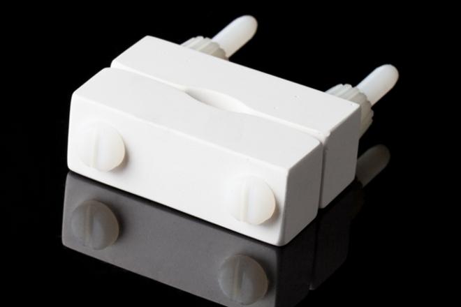 CA Electronics Ceramic Cable Clamp