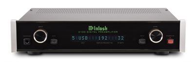 McIntosh D100 Preamplifier and DAC