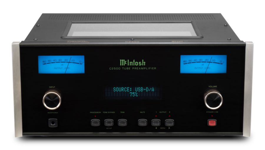 McIntosh Announce C2500 Preamplifier