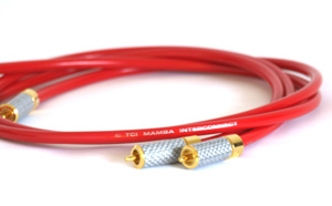 TCI Mamba Silver-Plated Audio Interconnect Cables