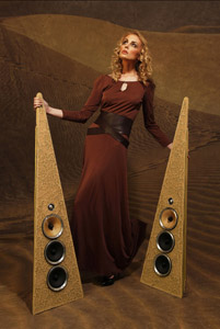 Rinz Sound Loudspeakers - A Glass Act!