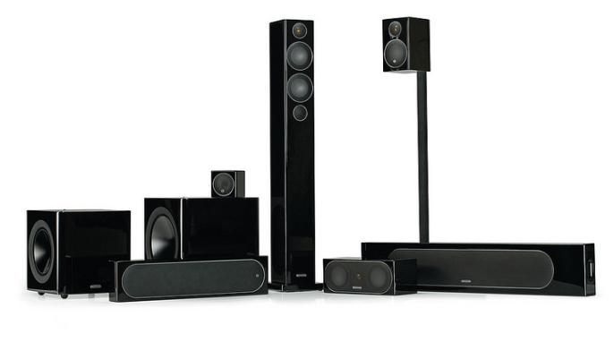 Monitor Audio Fine-Tune Radius Loudspeakers