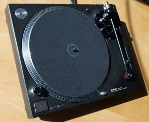 Hifi Review - Origin Live Modified Technics 1210 Turntable