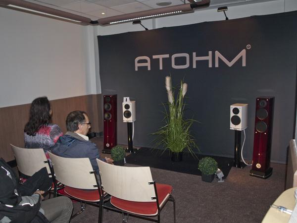 Atohm Paris Hifi 2013