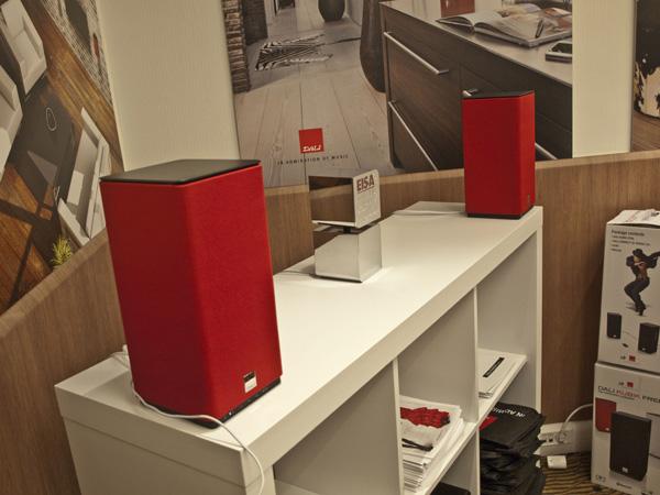 Dali Kubik Loudspeakers Paris Hifi 2013