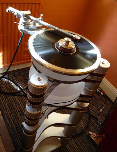 Clearaudio Master Innovation at Bath Audiofest 2013 - 2
