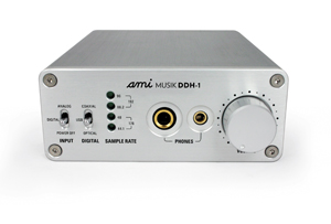 Hifi Review - AMI Musik DDH-1 DAC and Headphone Amplifier