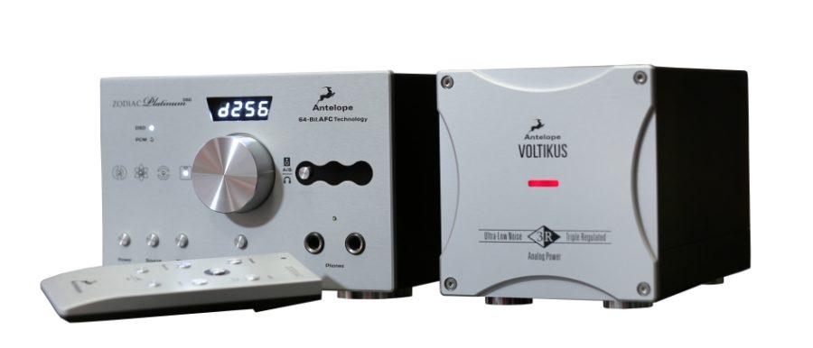Antelope Audio Zodiac Platinum DSD DAC/Headphone Amp Debuts at CES