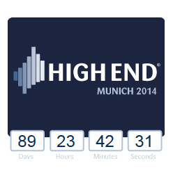 Munich High End 2014  - The Countdown Begins