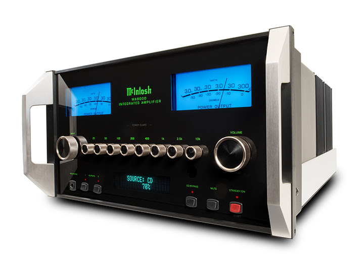McIntosh Launch MA8000 Integrated Amplifier