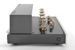 Prologue Premium Integrated Amplifier - silver - side with no cover - HR - JPG