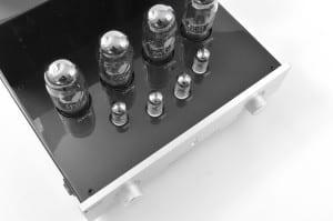 Prologue Premium Integrated Amplifier - silver - special shot - HR - JPG