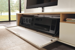 Audio Furniture From Teufel and hülsta