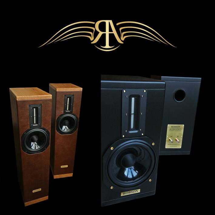 Robson Acoustics Voltaire Loudspeakers