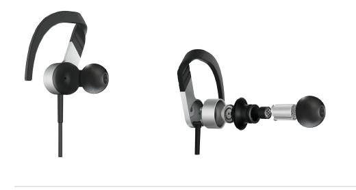 KEF Upgrade M200 In-Ear Headphones