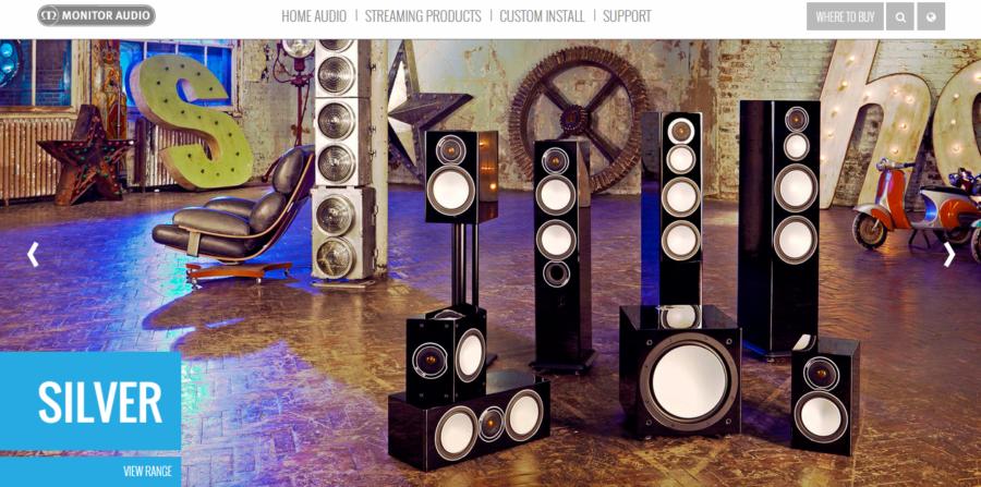 Monitor Audio Launch New Website