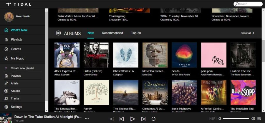Tidal Integrates With Meridian