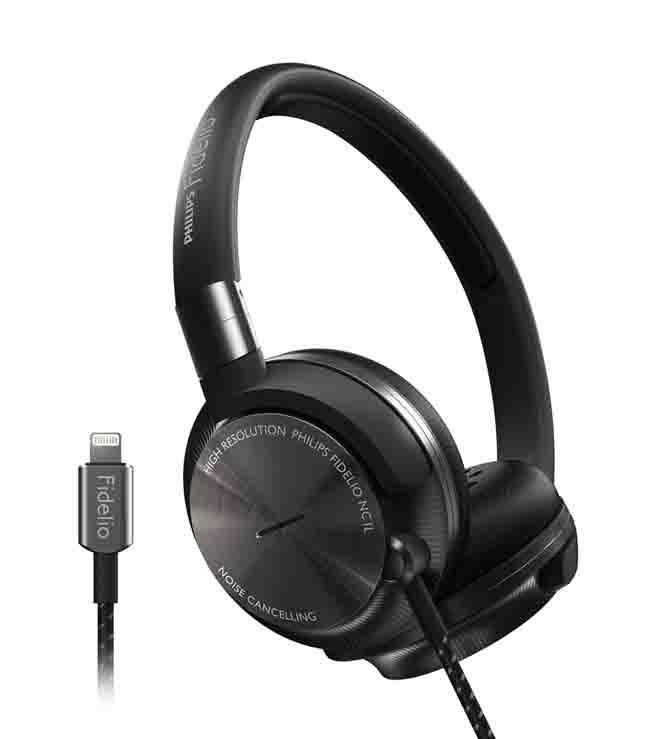 Phillips Fidelio Active Noise Cancelling Headphones