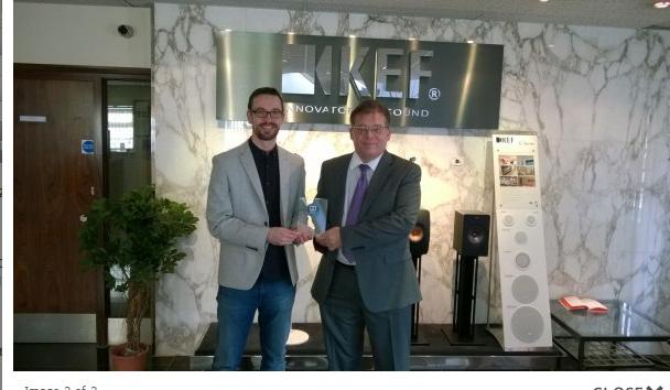 KEF Awarded Atmos Award