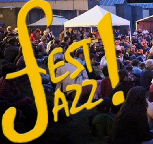 Fest Jazz at Chateauneuf-du-Faou, Brittany, France