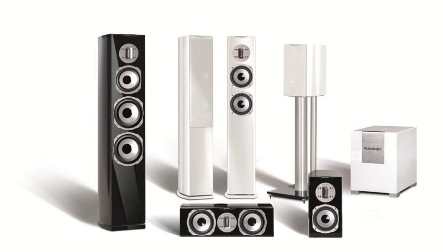 Chromium Style Loudspeakers From quadral