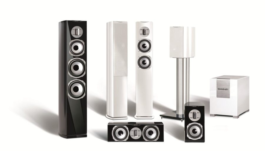 Chromium Style Loudspeakers From quadral