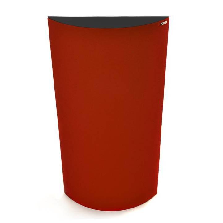 GIK Acoustics Evolution PolyFusor Red w black top