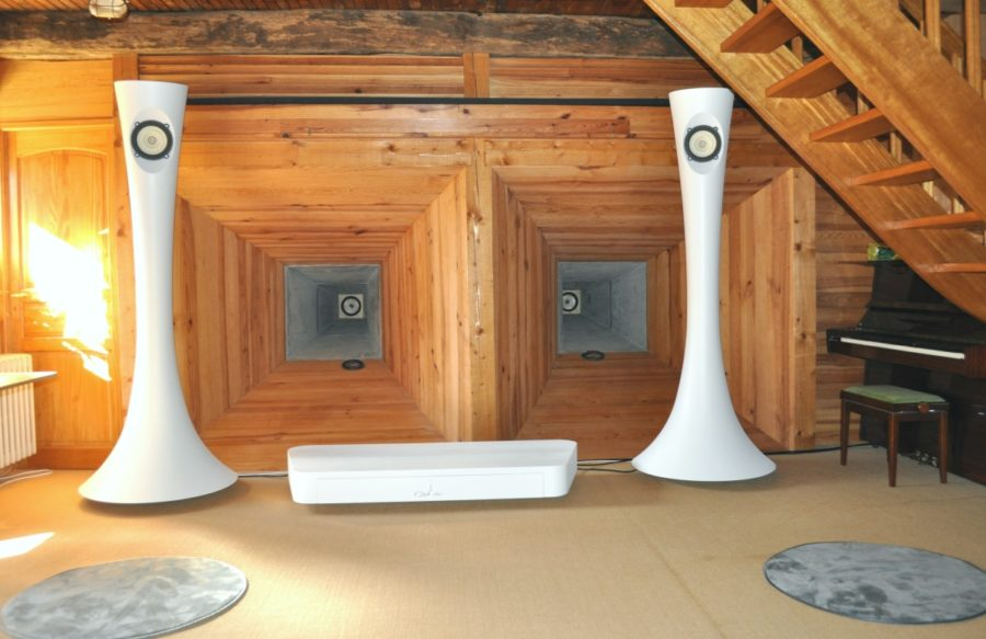 Dechalvaux Loudspeakers at TotalDAC