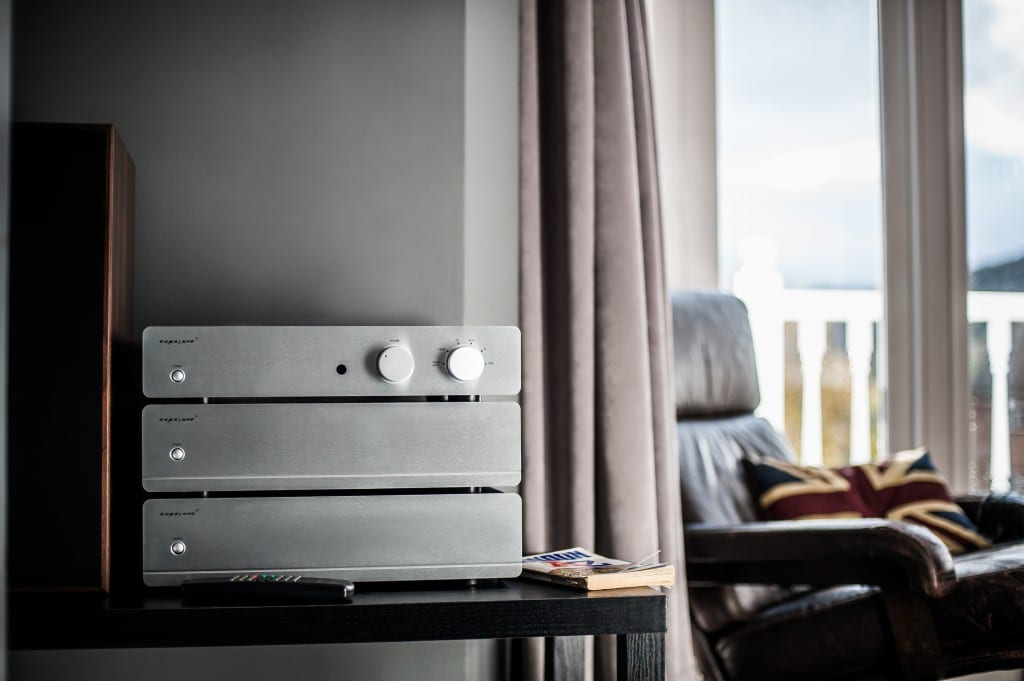 Exposure 3010S2D preamplifier with 3010S2 mono amps