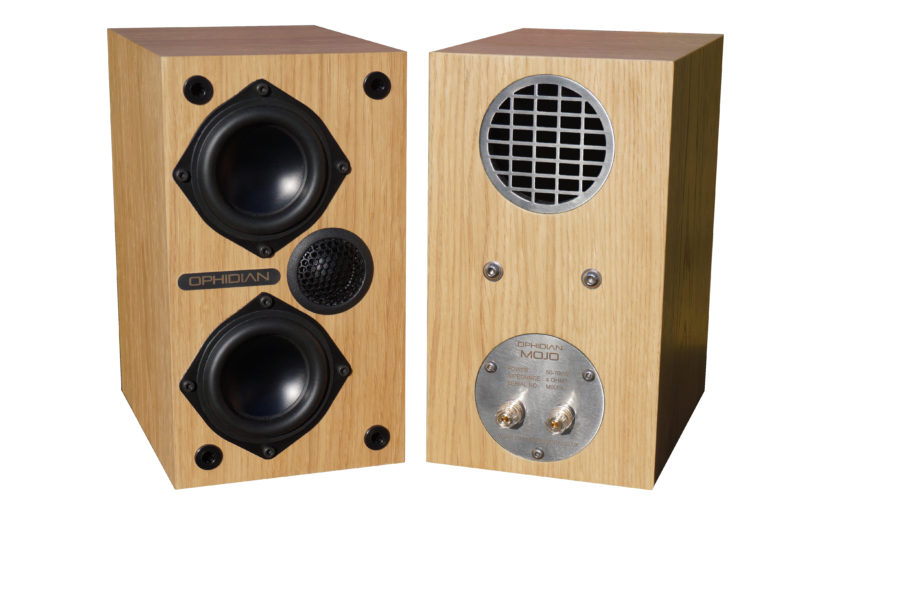 Hifi Review - Ophidian Mojo Loudspeakers