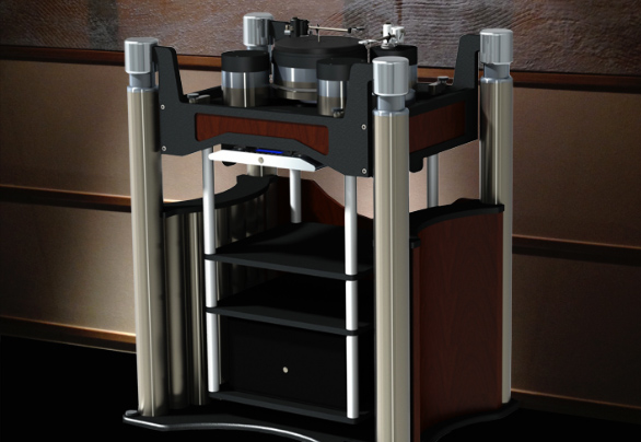 Acoustical Systems The APOLYT Turntable
