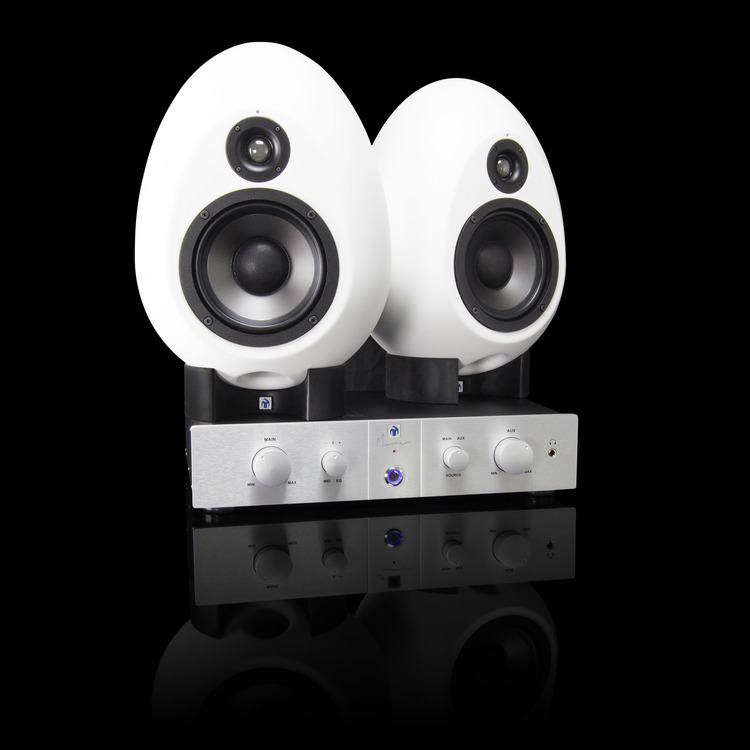 Review - MunroSonic EGG150 Active Monitoring Loudspeakers