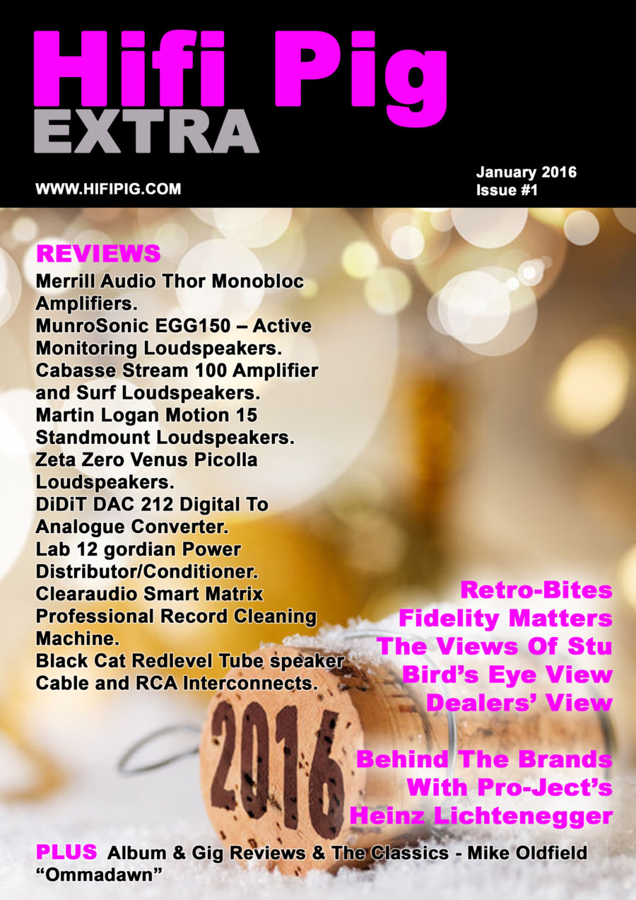 Hifi Pig Extra January 2016 Now Available