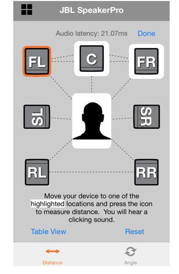 Speaker Positioning App For iOS
