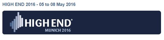 Latest News from Munich High End 2016