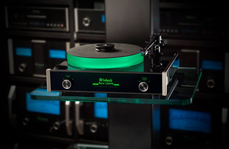 McIntosh Donate MT5 Turntable To Alice Cooper Charity