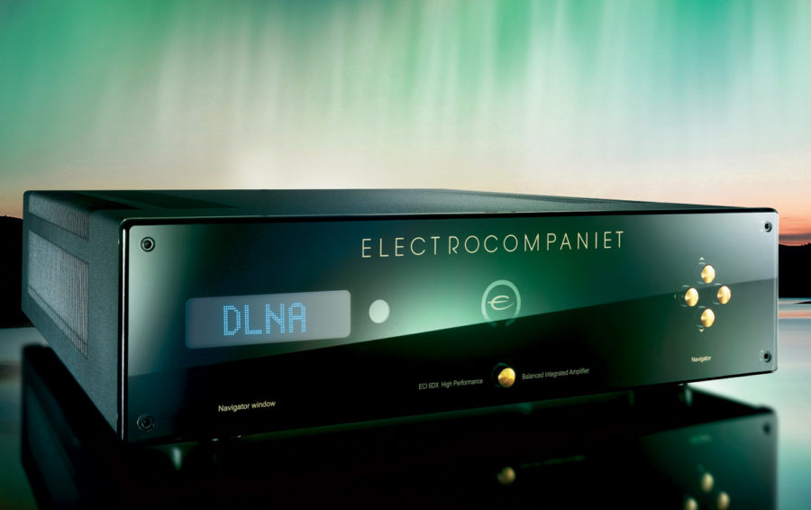 Electrocompaniet Announce ECI 6DX Integrated Amplifier with DAC and Streamer