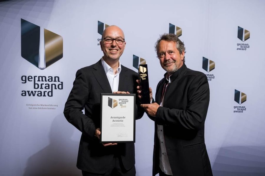 Avantgarde Acoustic Win German Brand Award Gold